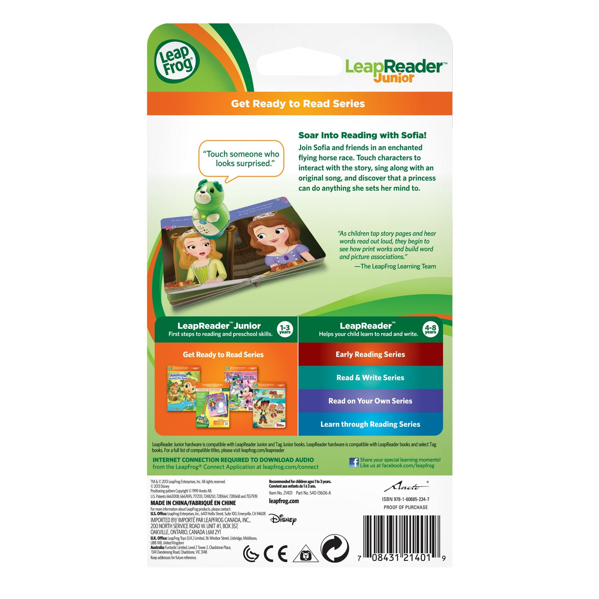 LeapFrog LeapReader Junior Book: Disney Sofia the First: A Princess Thing by LeapFrog (Image #4)
