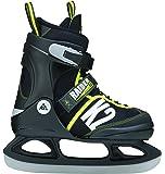 K2 Kinder Schlittschuhe RAIDER ICE, schwarz/grau/gelb, 25A0203.1.1