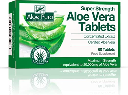 The Healthy Option Super Strength Aloe Vera 60 Tablet