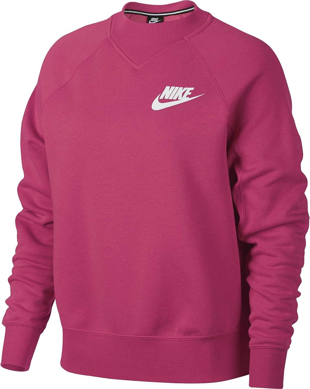 Nike W NSW Rally Crew Rib suéter para Mujer