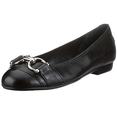 Donna Carolina 12170031, Damen Ballerinas, schwarz, (Nero), EU 36 ... 8e3a4b3cb6