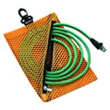 Vaultz Mesh Storage Bags, Assorted Colors and