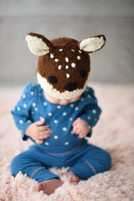 Pants or Legwarmers Huggalugs Baby and Toddler Moose Bear Buck Doe Camping Outdoors Beanie Hats