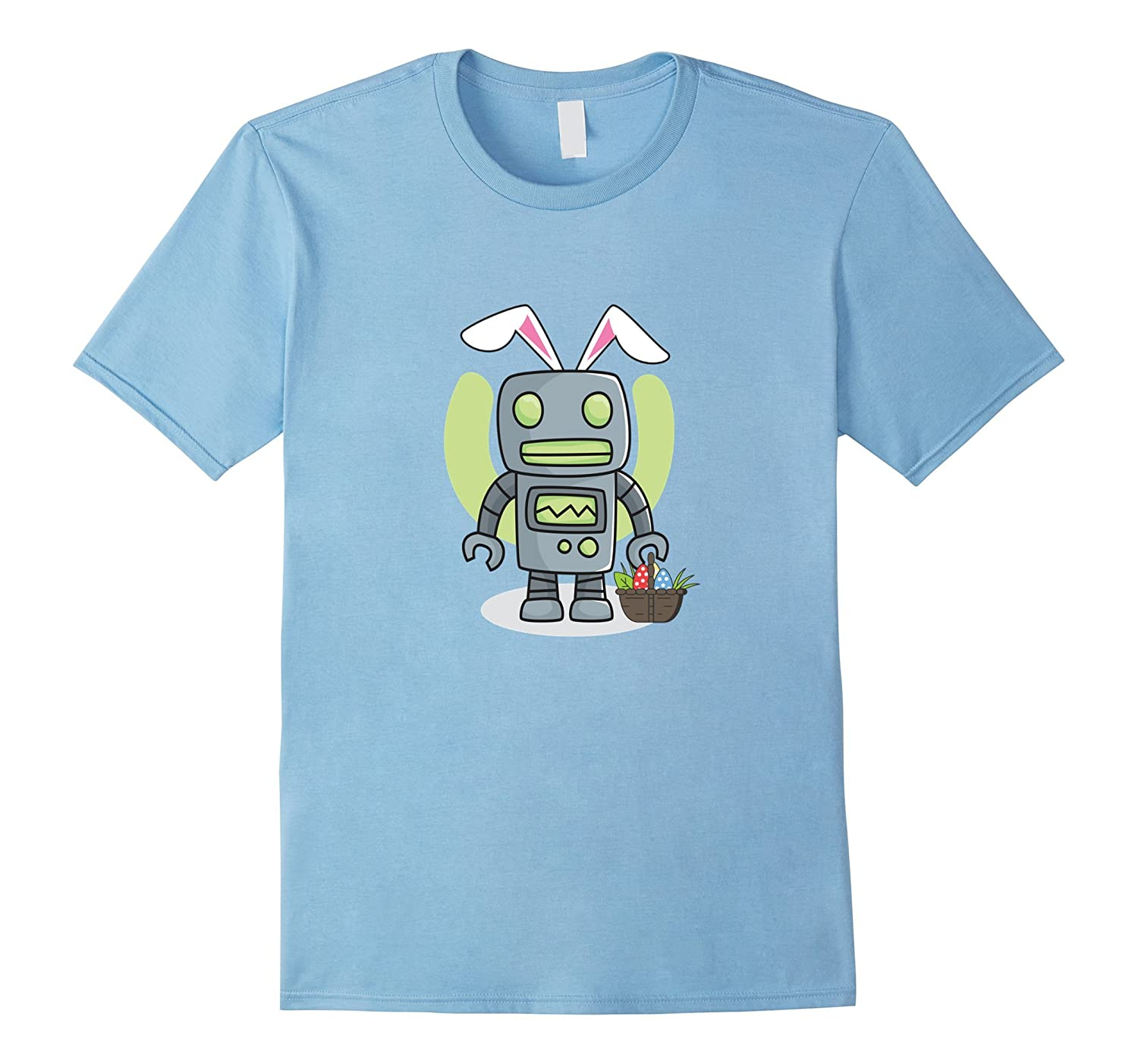 ca18a666 Robot Easter Bunny Funny T shirt for Kids Boys Girls Wome-TD – Teedep