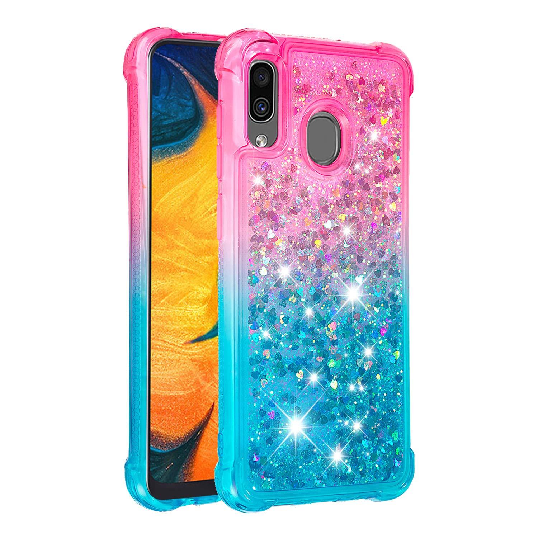 Funda Para Samsung Galaxy A20 / A30 Glitter Hapitek [7whd21j5]