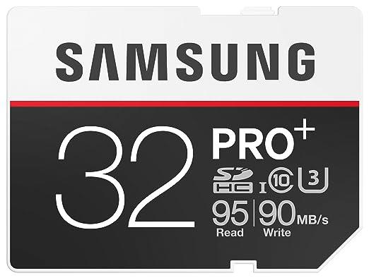 19 opinioni per Samsung Memoria 32 GB PRO Plus SDHC UHS-I di U3 Class 10 Scheda di memoria
