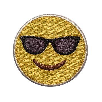 Gafas de sol Velcro parche - Emoji parches de velcro para ...
