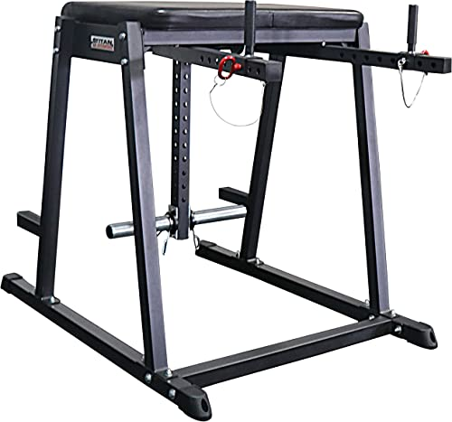 Titan H-PND Lower Back and Leg Machines