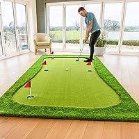FORB Professionele Puttingmat - Standaard 3,7m x 1m of XL 4m x 2m - Binnen- & buitenshuis Golf Green Puttingmat om uw putting skills te bevorderen.