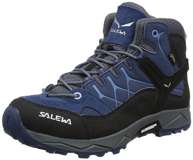Salewa Unisex-Kinder Jr Alp Trainer Mid GTX Trekking- & Wanderstiefel