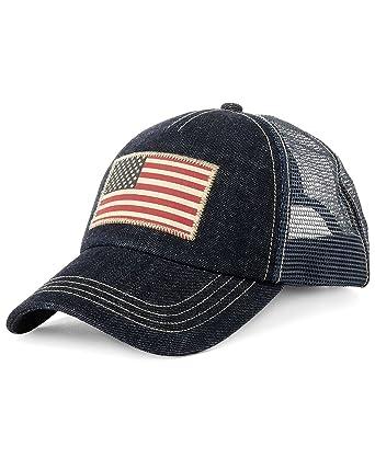 Polo Ralph Lauren Men s Trucker Mesh Cap (One Size 109b54ad2c3