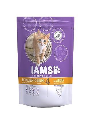 IAMS Proactive Health Kitten & Junior Rich In Chicken Comida para Gatos - 2550 gr