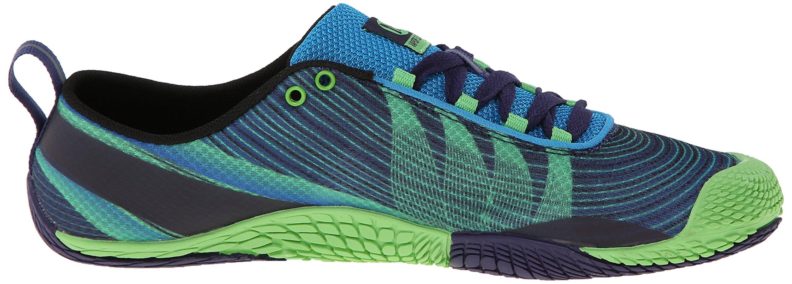 Merrell Men's Vapor Glove 2 Trail Running Shoe, Racer Blue/Bright Green, 9.5 M US by Merrell (Image #7)
