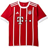adidas FCB H JSY Y Camiseta 1ª Equipación Bayern Munich 2017-2018, Niños