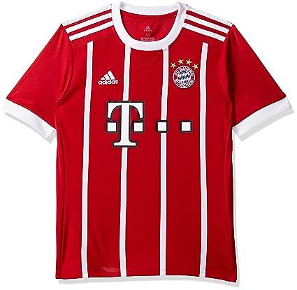 cde67156a19de adidas FC Bayern München Home Replica Jersey Youth 2017 18 Camiseta 1ª  Equipación Munich 2017