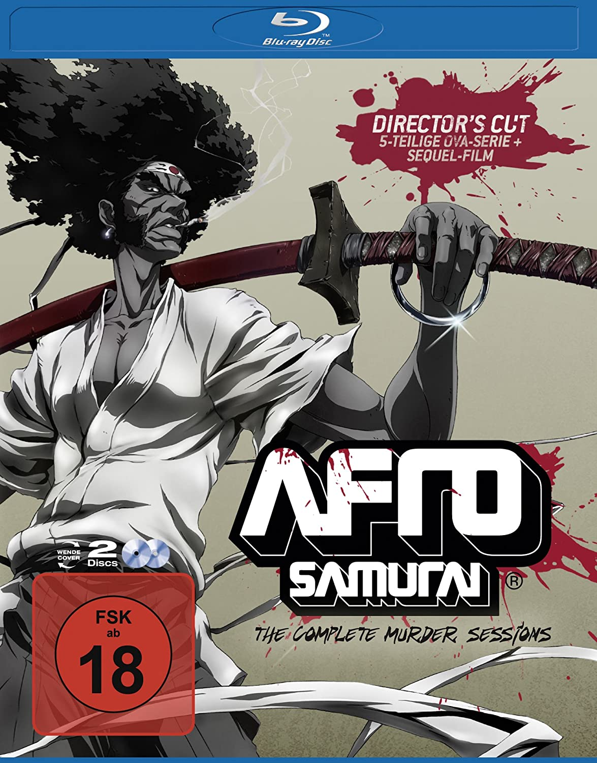 Afro Samurai - The Complete Murder Sessions [Blu-ray ...