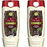 Old Spice Body Wash Fresher Collection Timber 16 Fl Oz (Pack of 2)