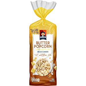 Quaker Buttered Popcorn Rice Cakes, 4.47 oz