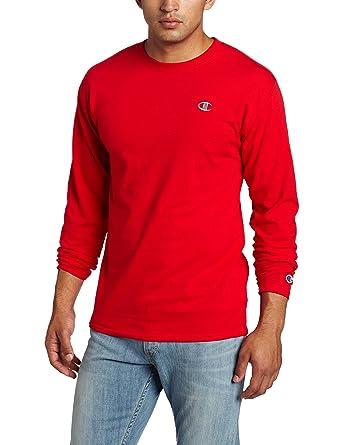 Champion Men's Long-Sleeve T-Shirt | Amazon.com