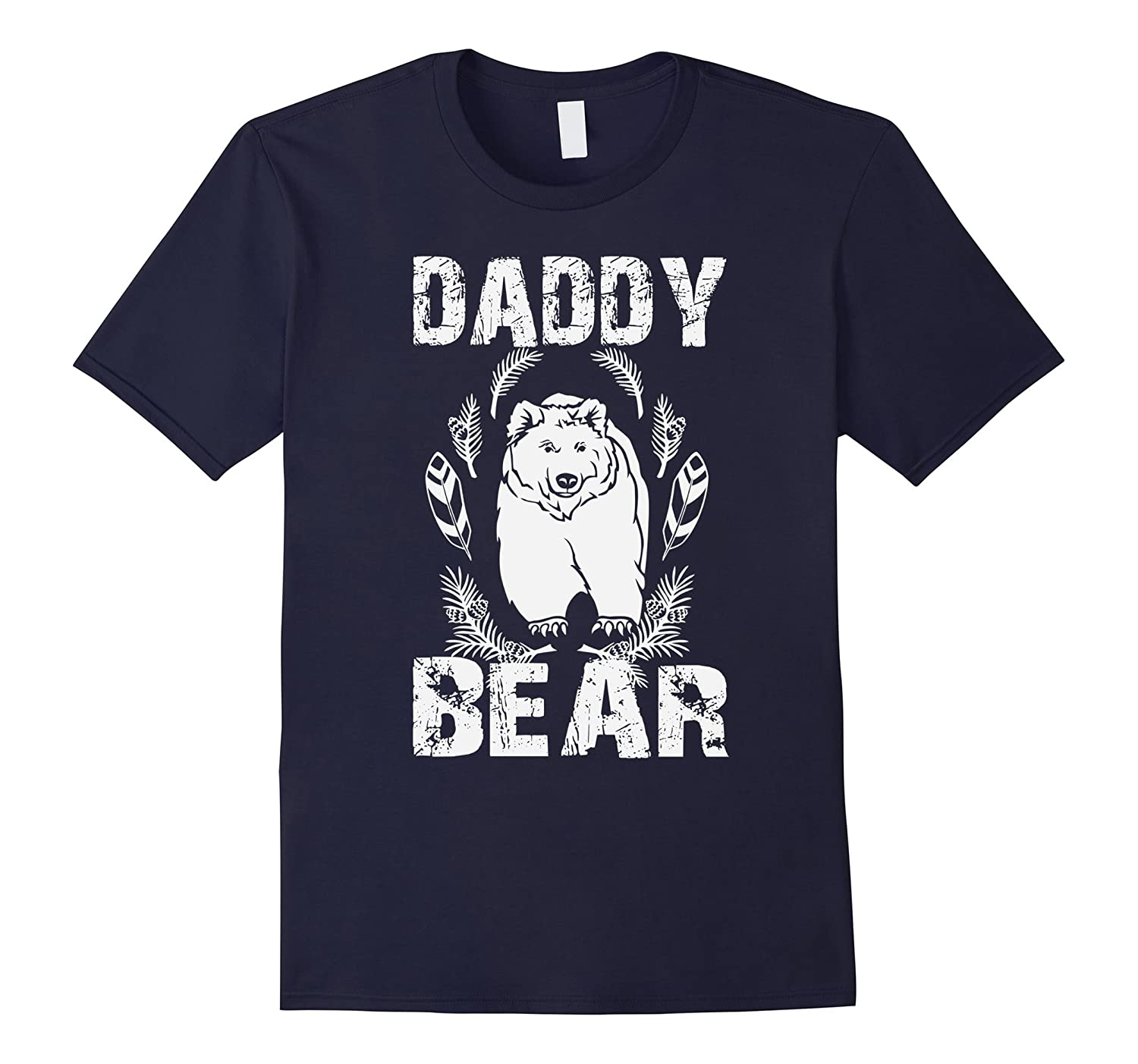 Daddy Bear Father Figure Funny Cute Gift Idea Tee Shirt-TH
