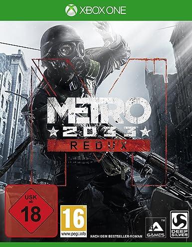 Deep Silver Metro: 2033 Redux (XONE) Básico Xbox One Alemán vídeo - Juego (Xbox One, FPS (Disparos en primera persona), M (Maduro)): Amazon.es: Videojuegos