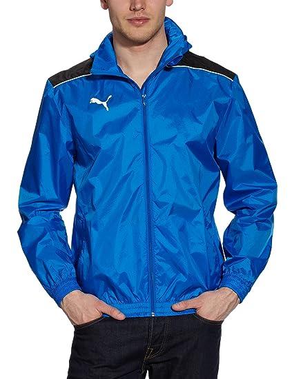 Puma - Chaqueta de fútbol sala para hombre, tamaño XXL, color azul marino - sombra oscura: Amazon.es: Ropa y accesorios