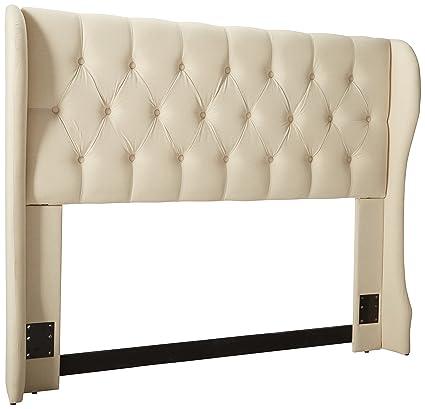 Genial Amazon.com   Coaster Home Furnishings Murrieta Full/Queen Upholstered  Headboard Beige