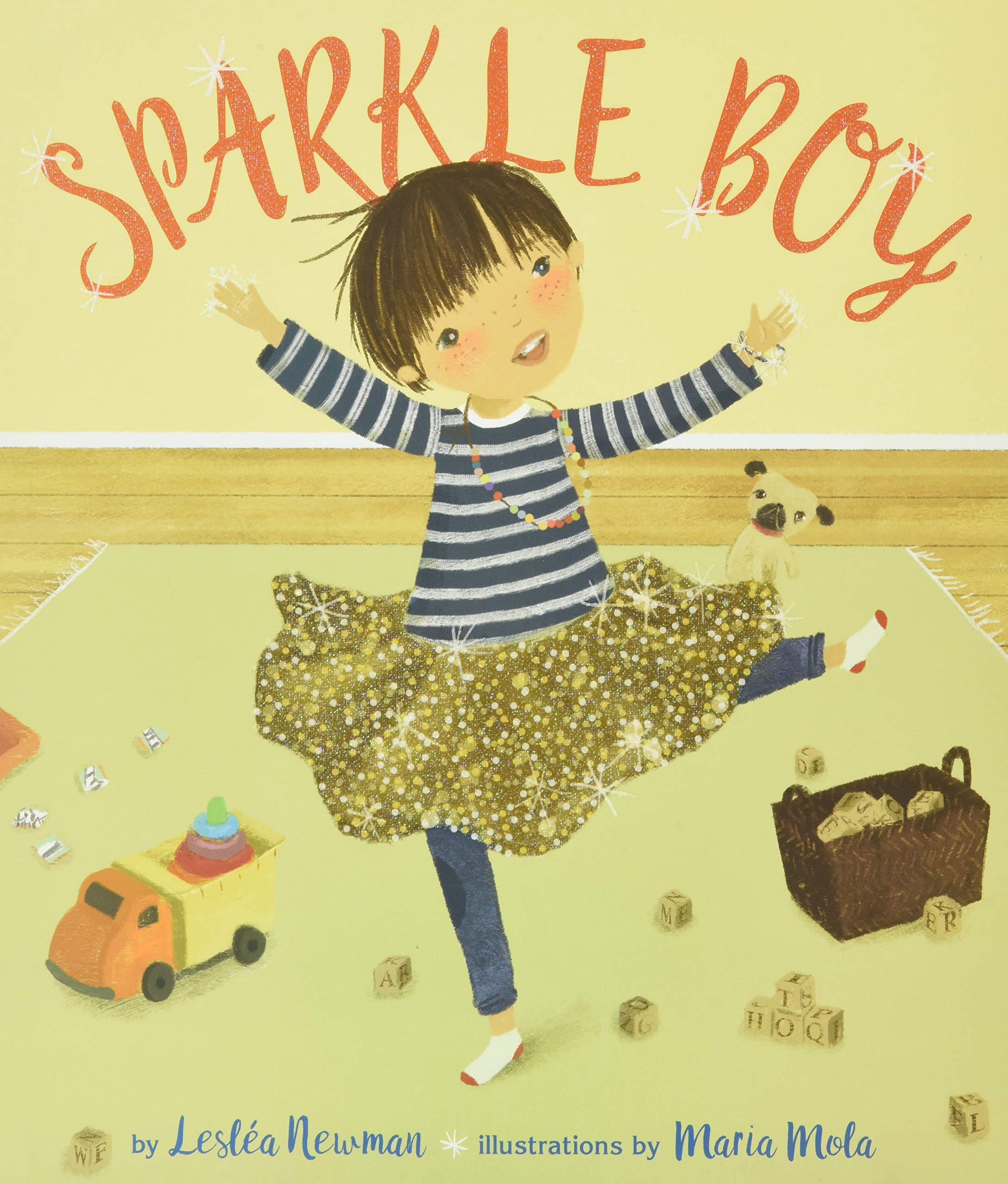 Sparkle Boy: Leslea Newman: 9781620142851: Amazon.com: Books
