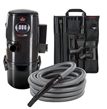BISSELL Garage Pro Wall Mounted Wet Dry Car Vacuum Blower With Auto Tool Kit