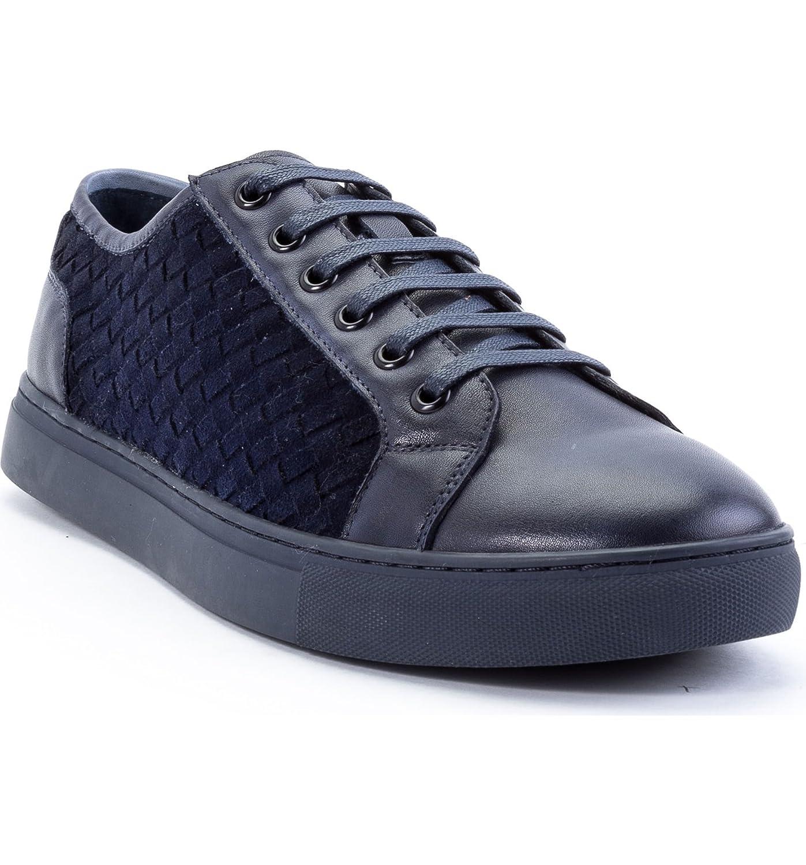 [ザンザラ] メンズ スニーカー Zanzara Player Woven Low Top Sneaker (Me [並行輸入品] B07DTHT2CT