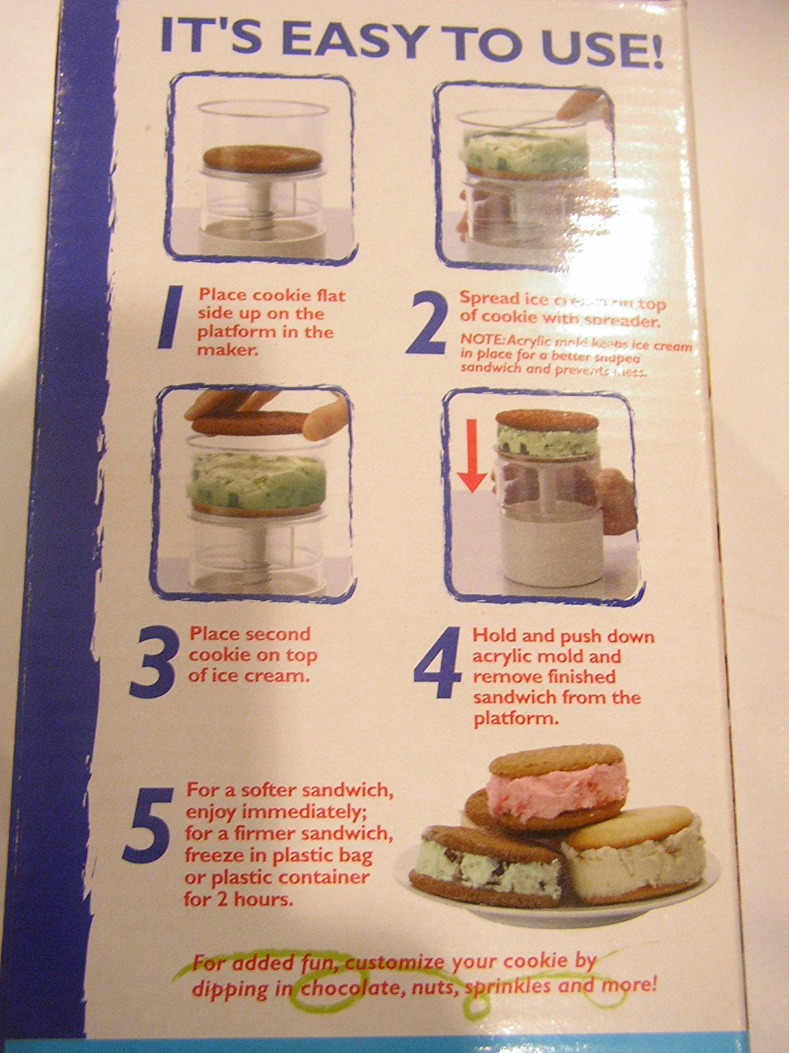 Progressive Ice Cream Sandwich Maker