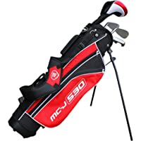 Junior MC-J 530 Half Set Age 9-12 Rh Black/Red
