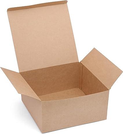 Belle Vous Kraft Cajas de Regalo (Pack de 12) - (20,3x20,3x10,1cm ...