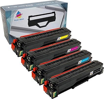 Set of 5 CLT-K504S 504 Toner Cartridges For Samsung SL-C1810W SL-C1860FW CLP-415
