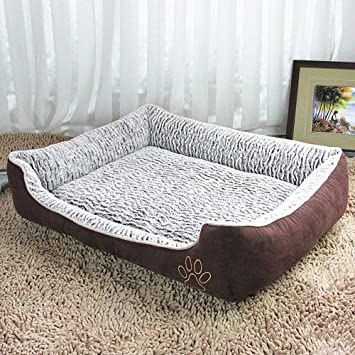 Aoligei Rose Velvet Ondulado Perro Kennel camada Mascotas Lavable Cama Doggy Perro Mat Tomar el Sol en la colchoneta, la Siesta y la Cama: Amazon.es: Hogar
