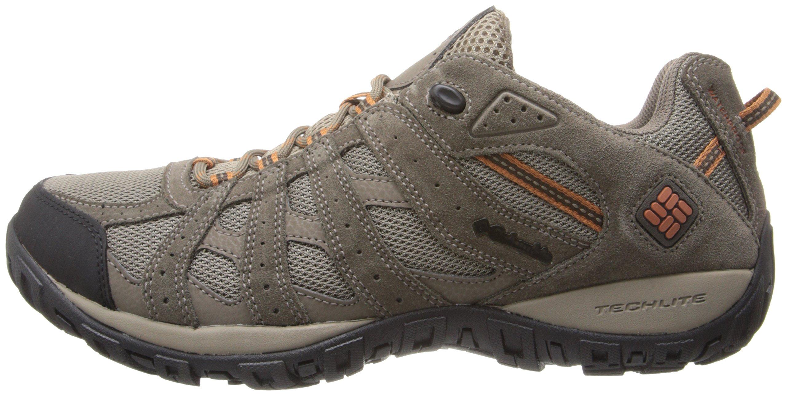 Columbia Men's Redmond Waterproof Hiking Shoe Pebble, Dark Ginger 7 D US by Columbia (Image #5)