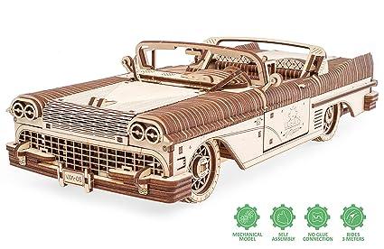 3d Kit En Puzzle Adultes À Pour Casse Ugears Mécanique Voiture Dream Cabriolet Monter Tête De Bois Modèle Maquette HeW9D2YEI