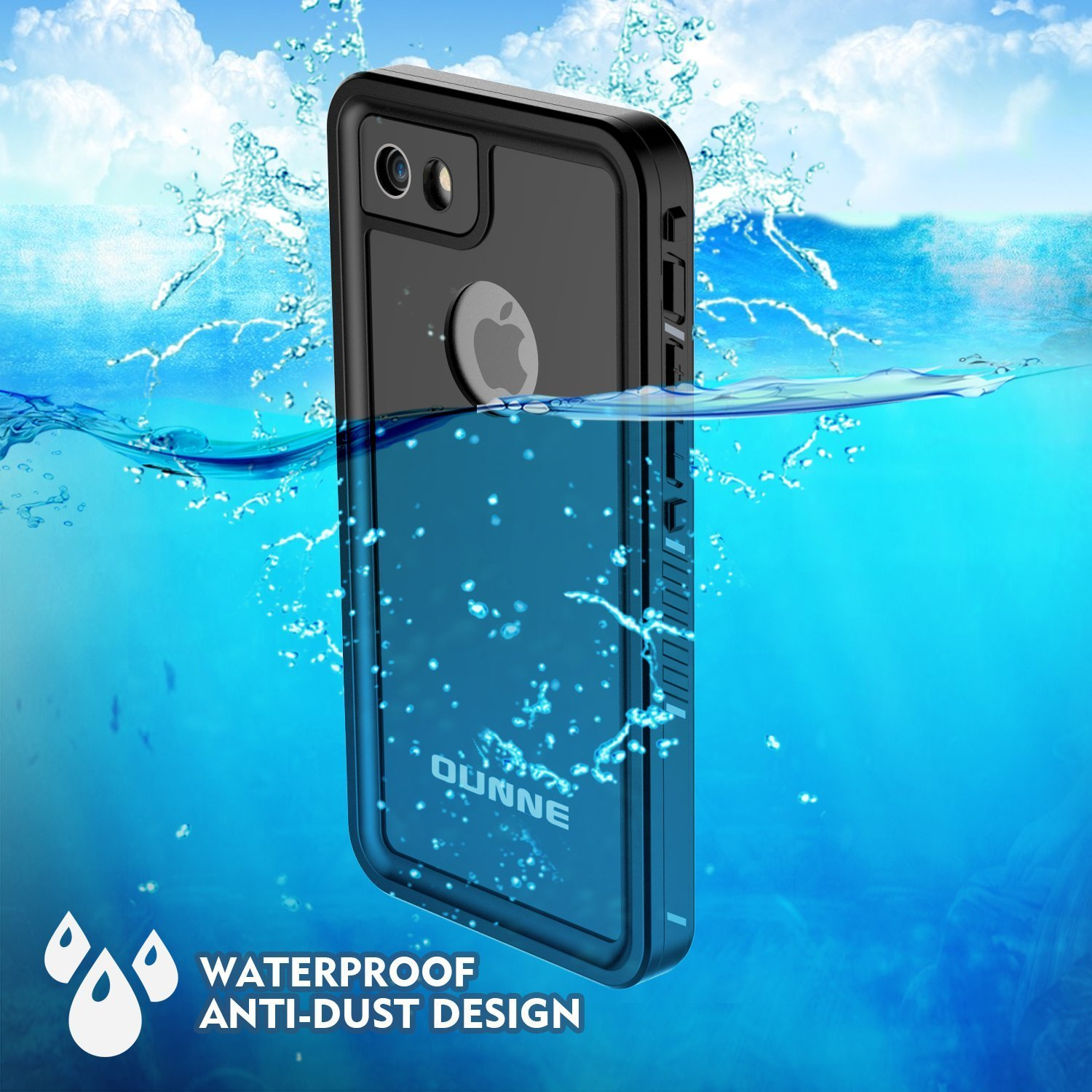 Amazon.com: OUNNE Funda impermeable para iPhone 6, 6s y Plus ...
