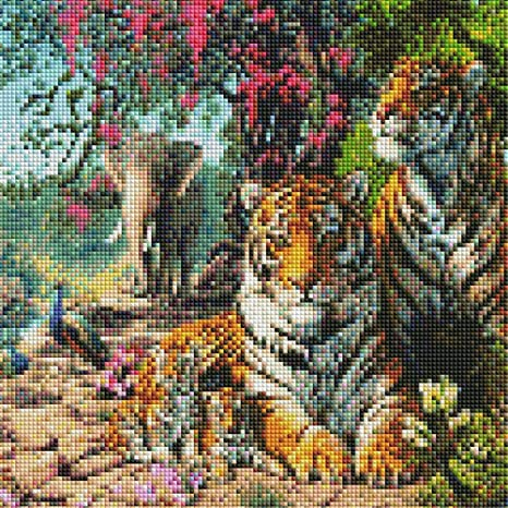 5D DIY Full Diamond Painting, by Number Kits Crafts & Sewing ...