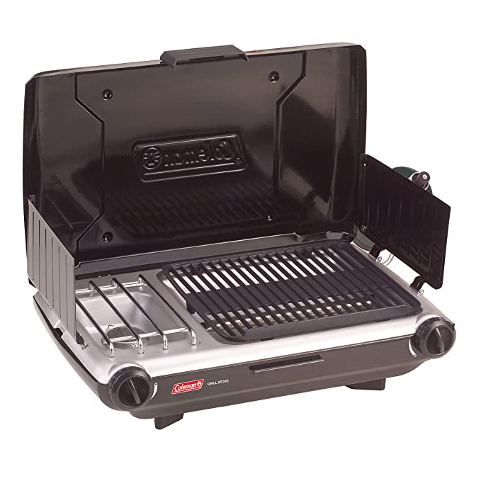 Coleman 2 Burner Grill Stove Combo – Most Versatile Camping Grill