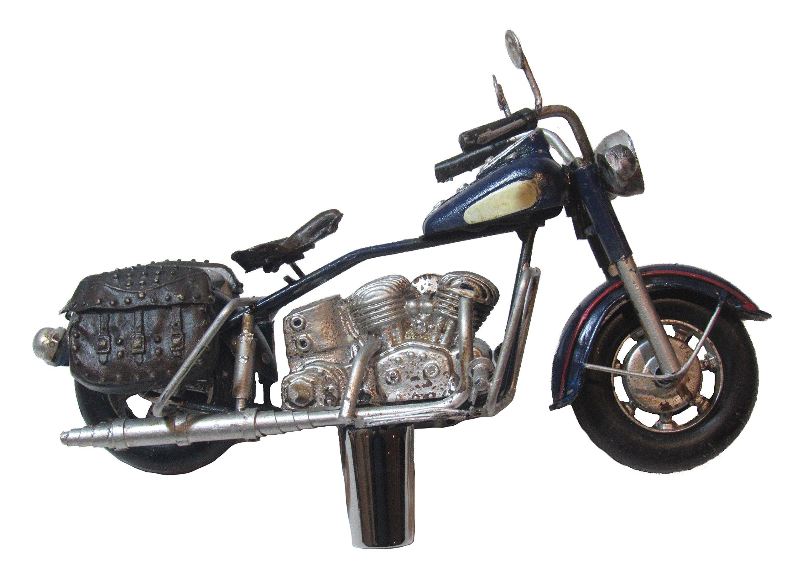 Metal Motorcycle Beer Tap Handle Sports Bar Kegerator Breweriana