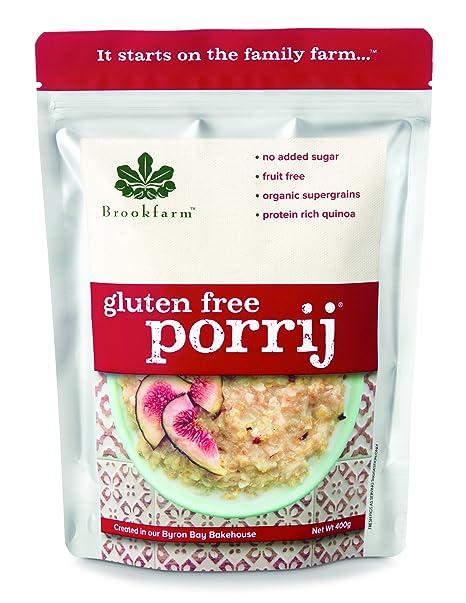 Brookfarm Porrij – Crema de avena sin TACC, sin Gluten, 400 g
