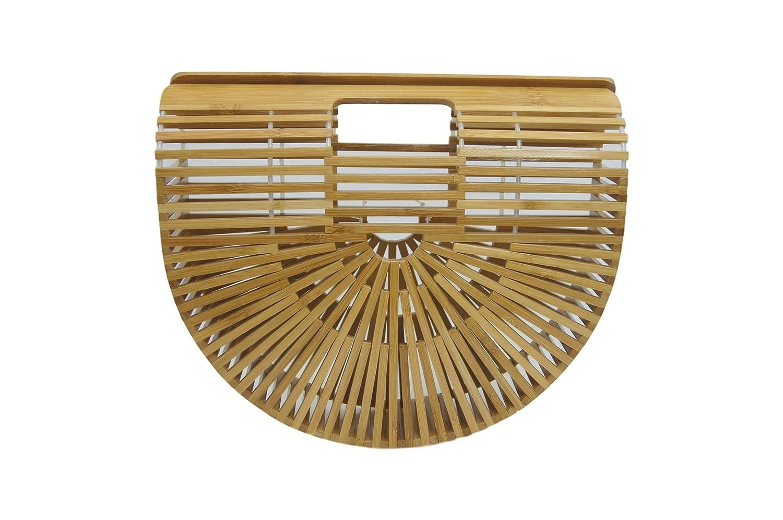 Small Bamboo Handbag Clutch