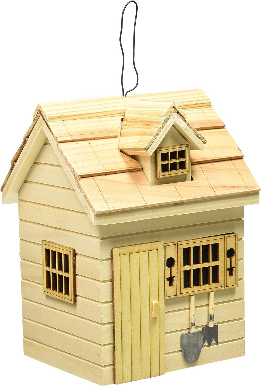 Home Bazaar Potting Shed Birdhouse - Natural