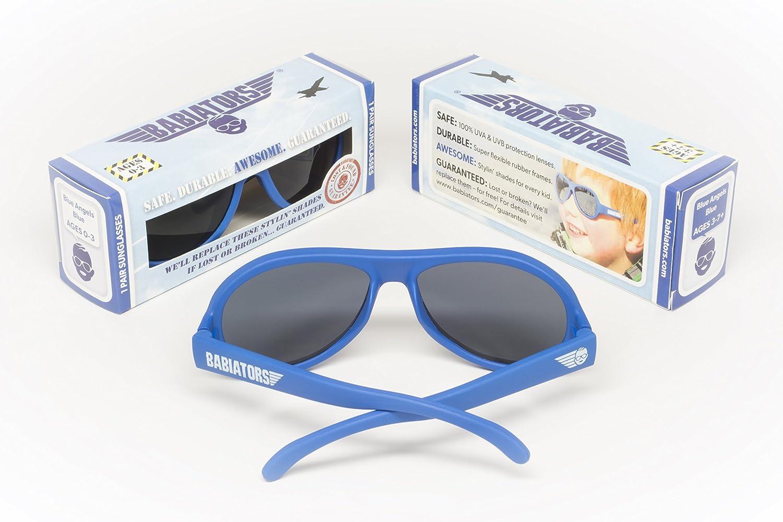 89c2008a334 Amazon.com  Babiators Gift Set - Black Ops Original Sunglasses (Age 0-3)  and Galactic Gray Camo Rocket Pack  Baby