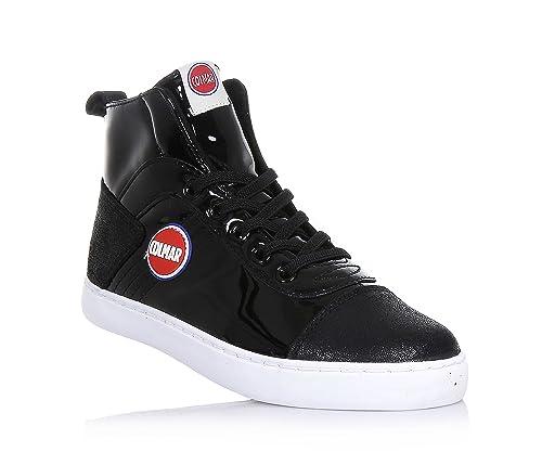 Colmar Scarpe Sneaker Nero Ragazzo Ragazza Durden Laquer Y45 - Taglia 36 d4558f1ee9d