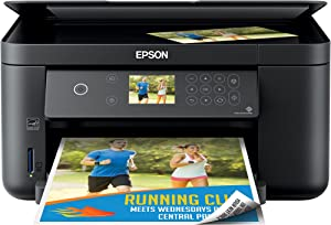 Epson Expression Home XP 5000 Series Wireless All-in-One Color Inkjet Printer for Home Business Office - Print Scan Copy - 14 ppm, 4800 x 1200 dpi, Auto 2-Sided Borderless Print, 150-Sheet, Card Slot