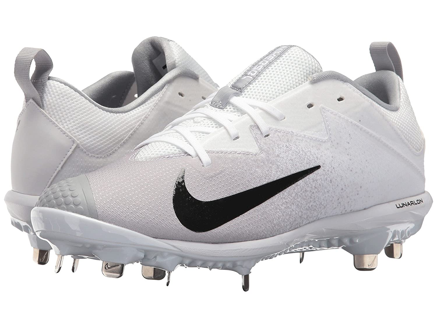 (ナイキ) NIKE メンズ野球ベースボールシューズ靴 Vapor Ultrafly Pro White/Black/Wolf Grey 13 (31cm) D Medium B078PTNY23