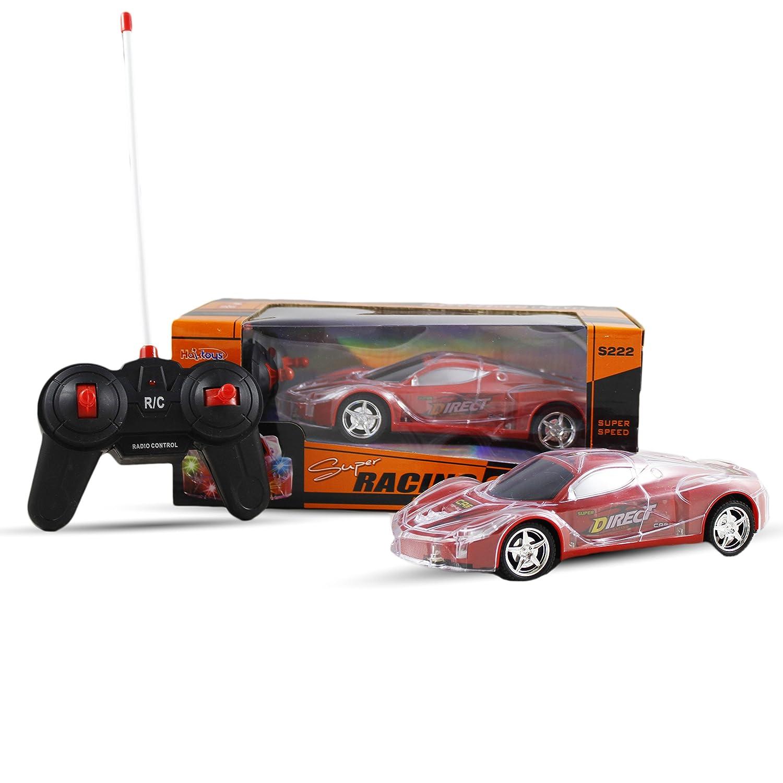 Amazon Haktoys Light Up RC Car for Kids Boys & Girls with