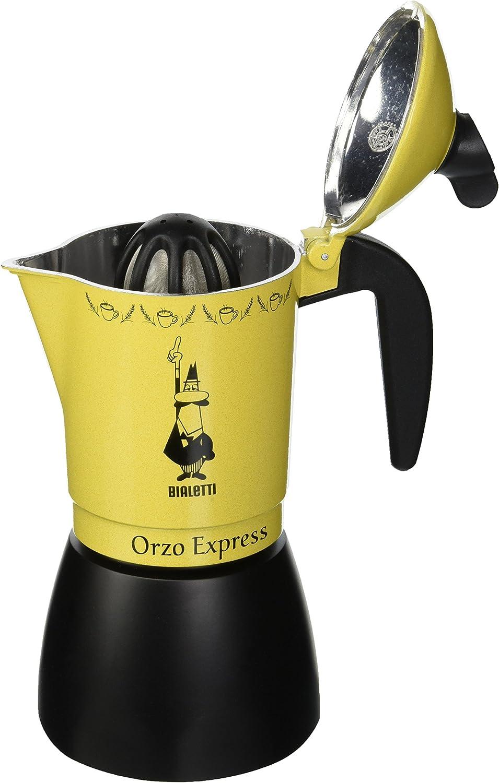 Bialetti Moka Orzo Express Cafetera Italiana Espresso, 4 Tazas ...
